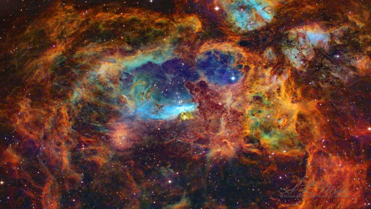 سحابی شاه میگو — تصویر نجومی