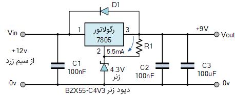 افزایش ولتاژ خروجی