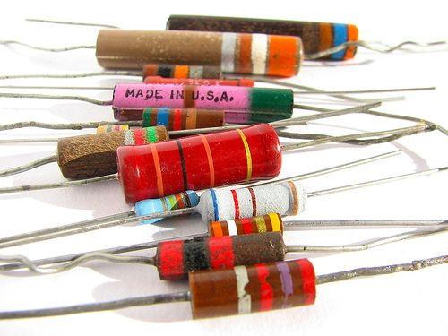 انواع مقاومتهای الکتریکی