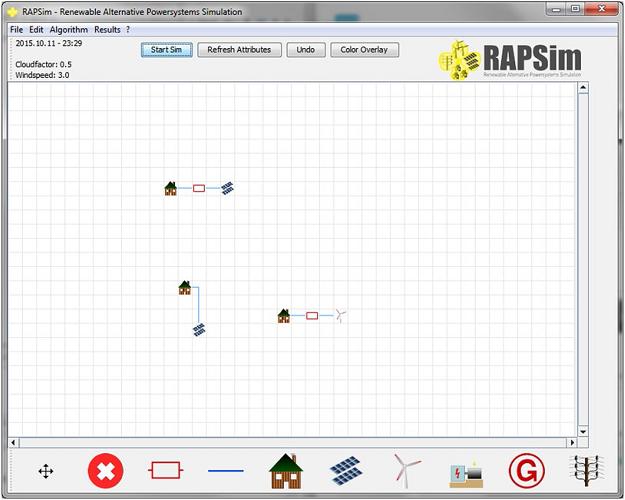 رابط کاربر گرافیکی RAPSim