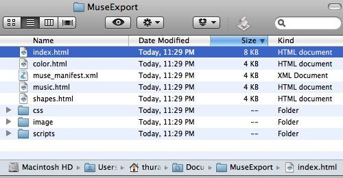 آموزش Adobe Muse