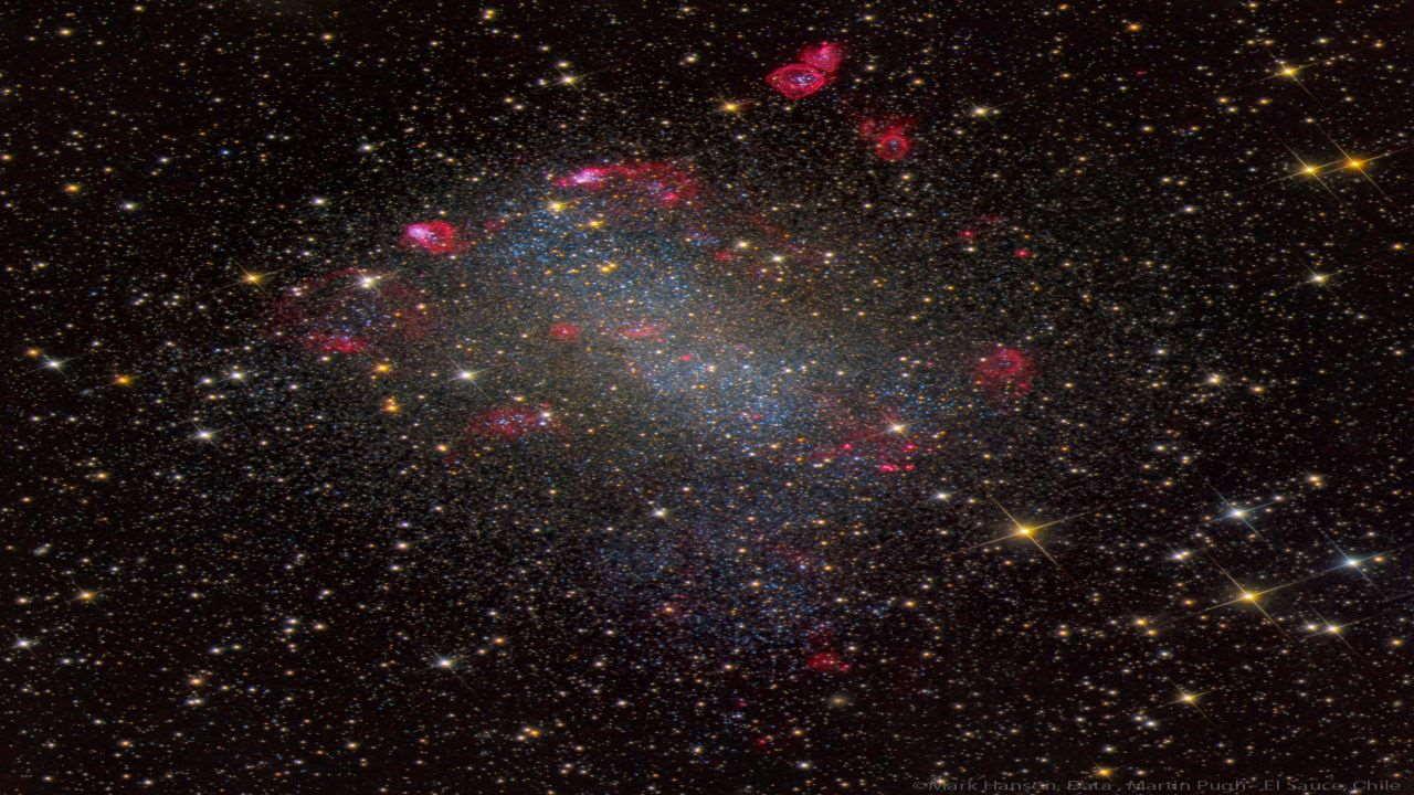 کهکشان برنارد — تصویر نجومی
