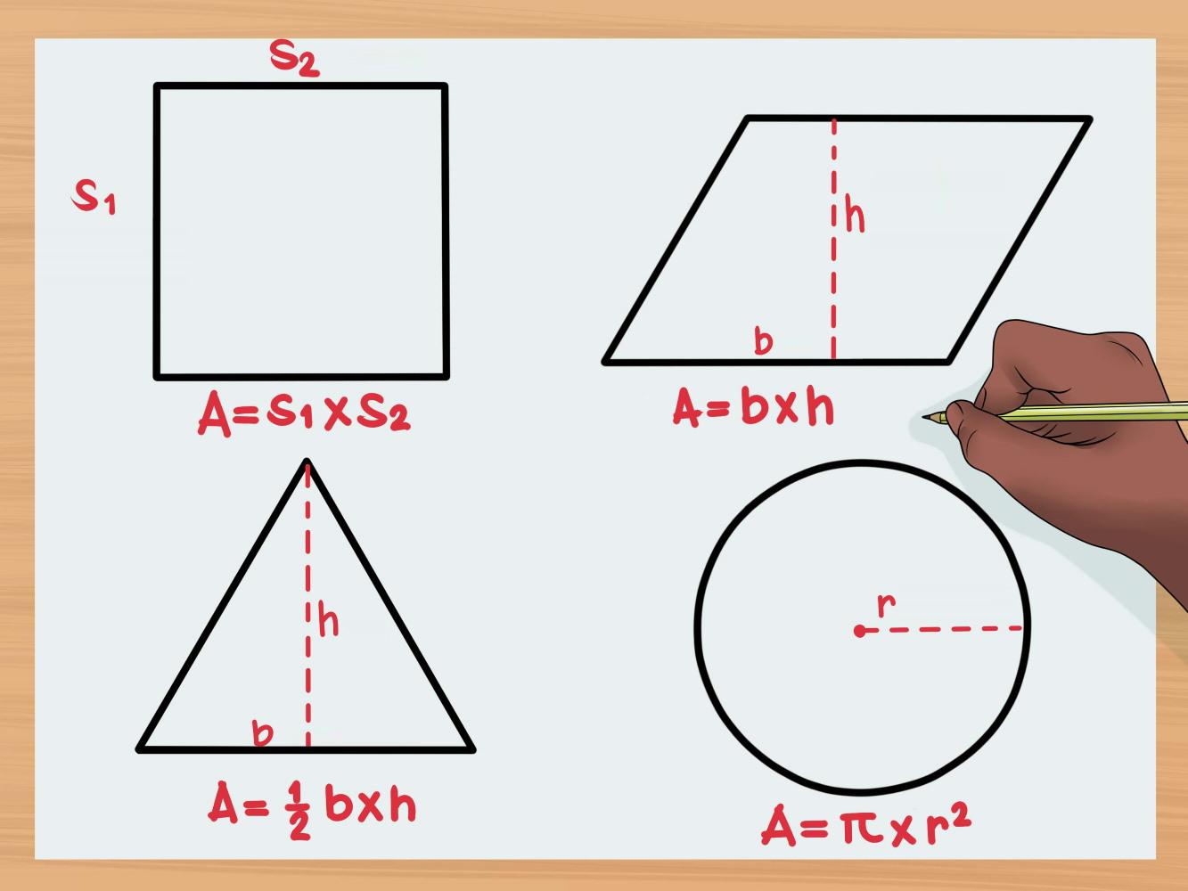فرمول های محیط و مساحت اشکال هندسی (+ فیلم و PDF رایگان)