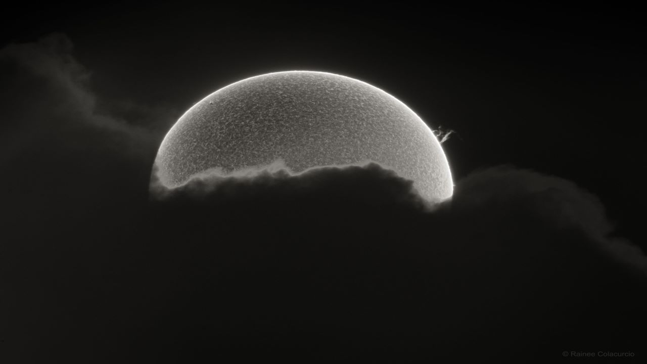 برجستگی خورشیدی — تصویر نجومی