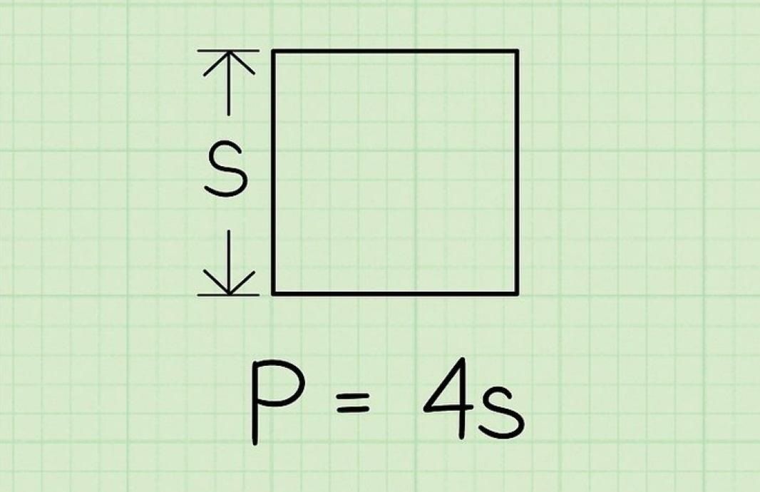 محیط مربع و محاسبه آن | به زبان ساده (+ فیلم آموزش رایگان)