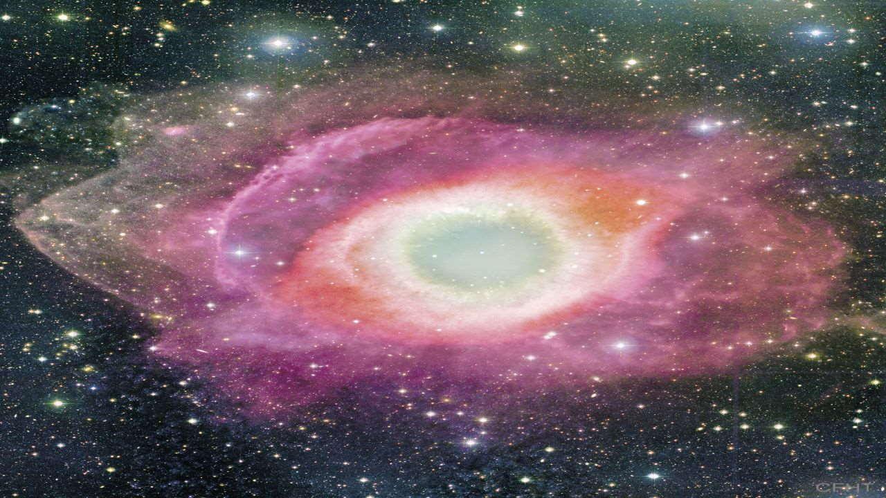 سحابی مارپیچ — تصویر نجومی