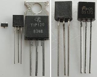 تست ترانزیستور با مولتی متر