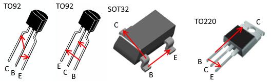 نام پایه های ترانزیستور