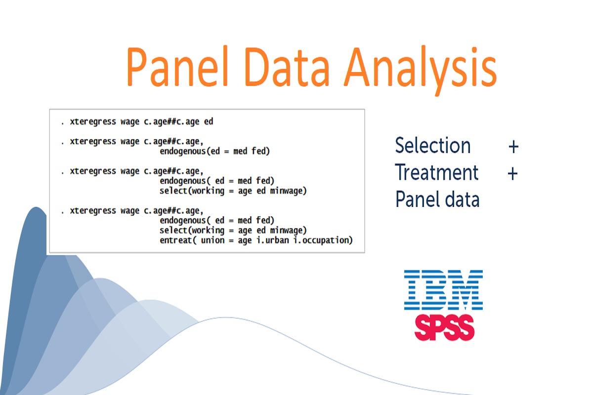 تحلیل داده پانلی در SPSS — راهنمای کاربردی
