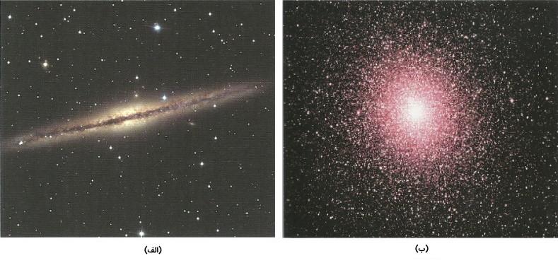 تصویر دو کهکشان شبیه به راه شیری