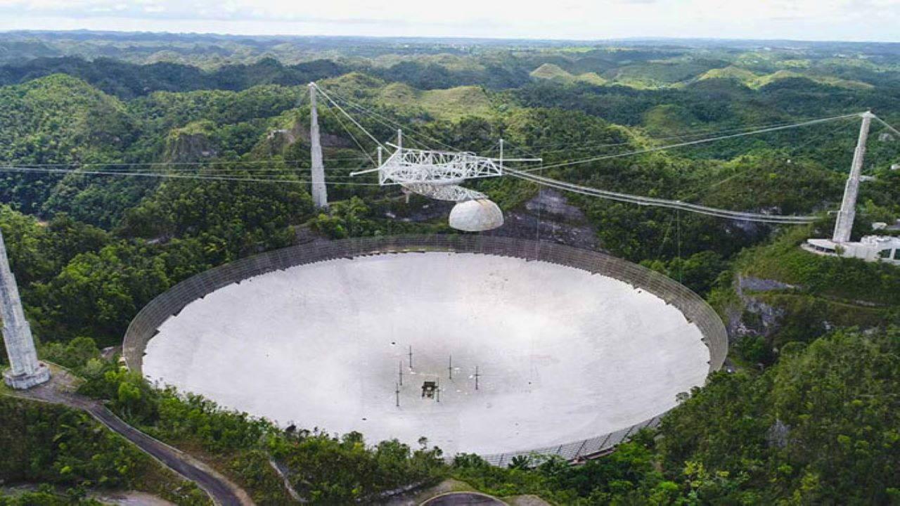 سقوط تلسکوپ آرسیبو — تصویر نجومی