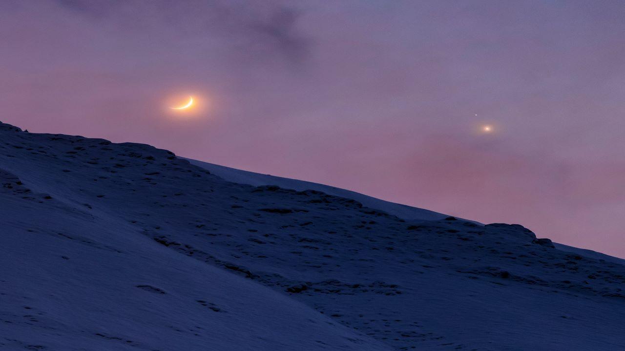 مقارنه پس از غروب آفتاب — تصویر نجومی
