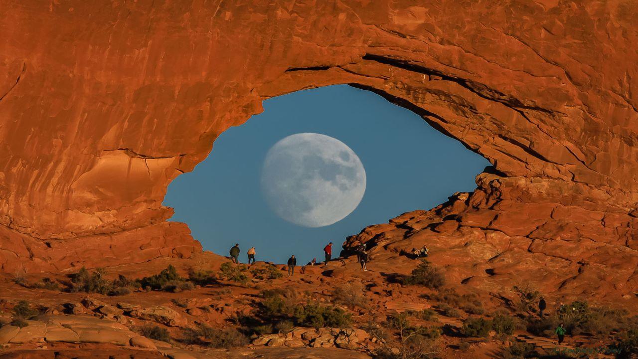چشم ماه — تصویر نجومی