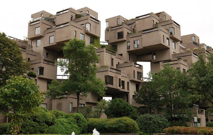 مجموعه ساختمانی Habitat67