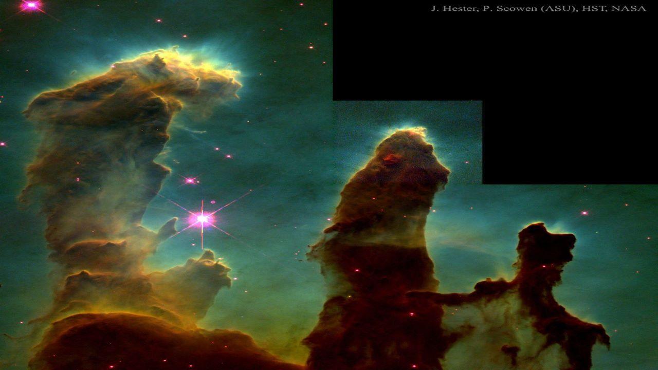 سحابی M16 — تصویر نجومی