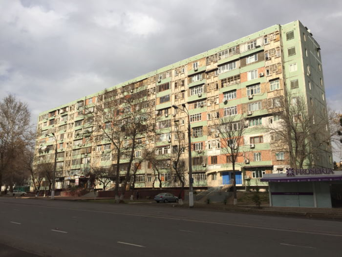 ساختمان های بلوکی شوروی سابق