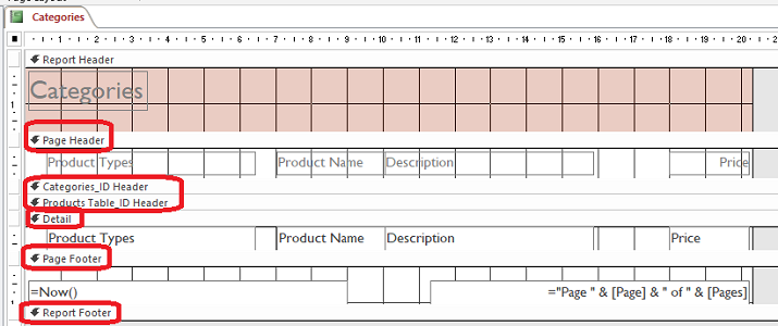 report final design view