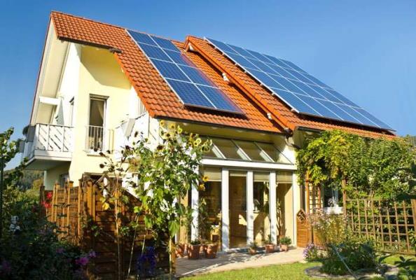 تولید برق با سلول خورشیدی