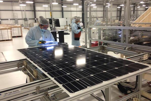 تولید سلول خورشیدی