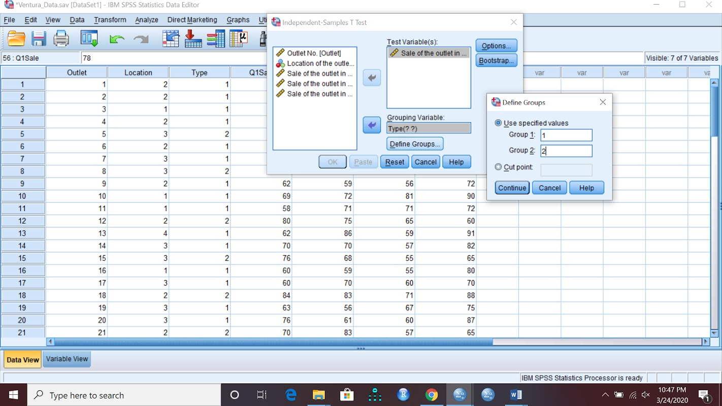 آزمون مقایسه میانگین ها در SPSS | راهنمای گام به گام