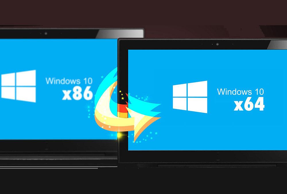 تبدیل ویندوز ۳۲ بیتی به ۶۴ بیتی | راهنمای گام به گام و تصویری