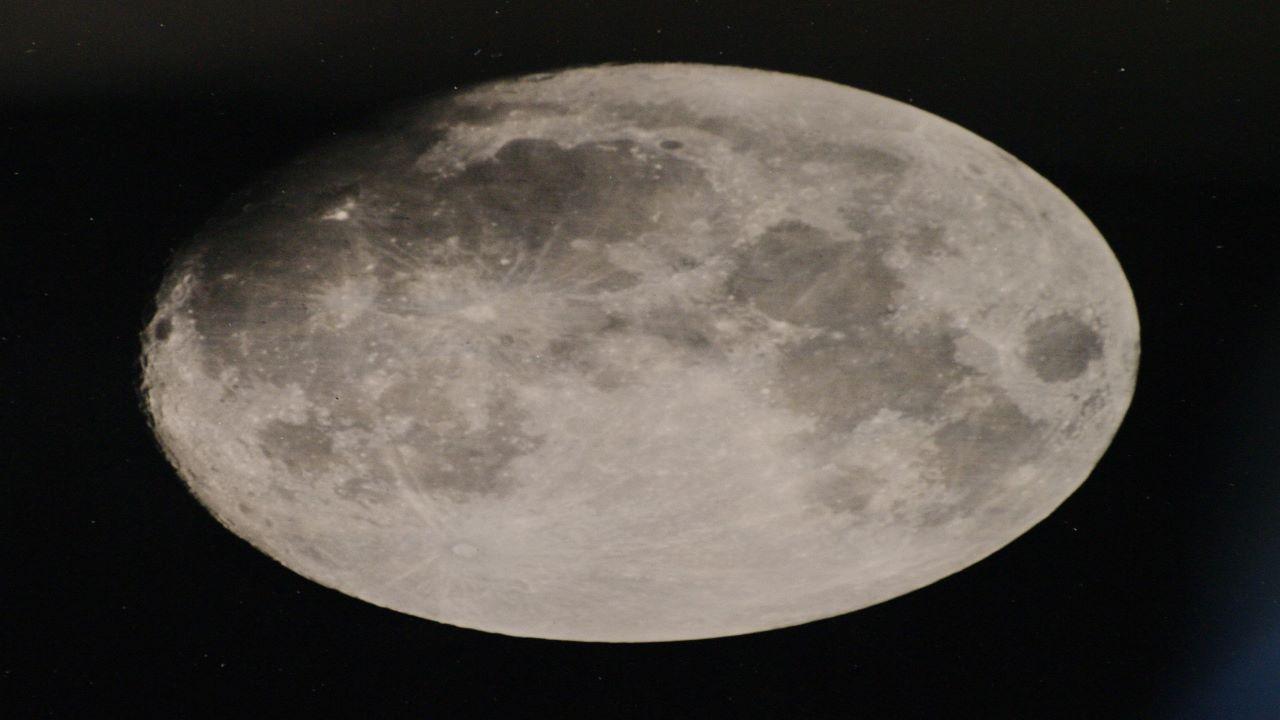 تصویر کلودیونی ماه — تصویر نجومی