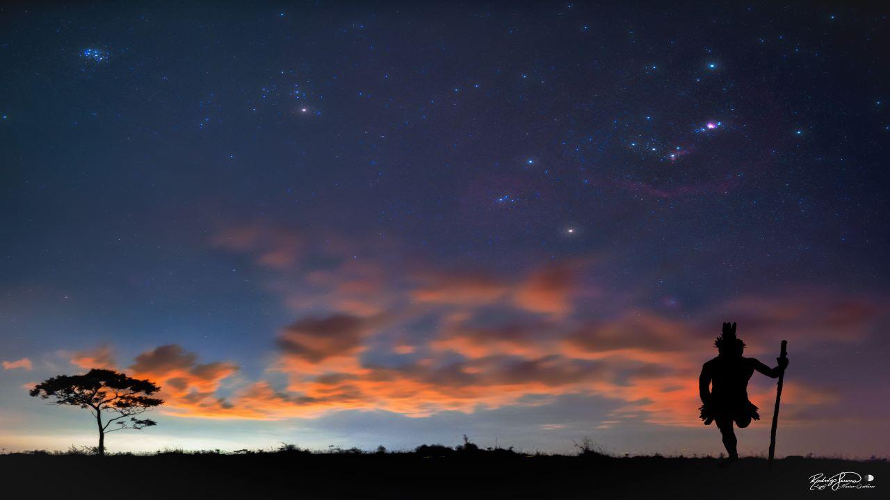 صورت فلکی تاریخی برزیل — تصویر نجومی