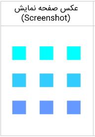 تصویر مربوط به خروجی مثال ترجمه (translation) در آموزش Canvas است.