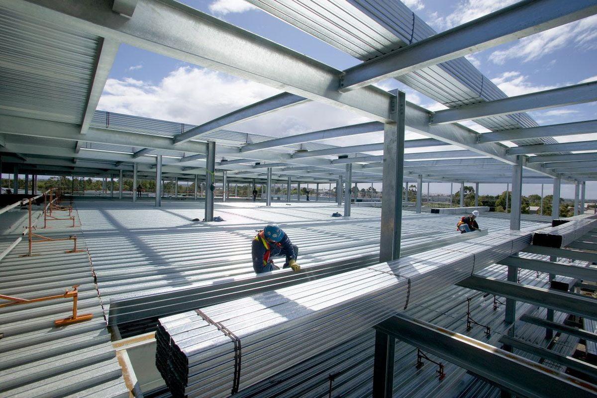 بارگذاری سقف کامپوزیت — آشنایی با مبانی طراحی | به زبان ساده