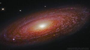کهکشان مارپیچی و غول پیکر NGC 2841 — تصویر نجومی