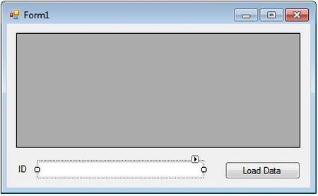 تصویر یک پنجره ساده برای لایه نمایش در پیاده سازی معماری سه لایه در سی شارپ