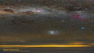 آسمان نیمکره جنوبی — تصویر نجومی