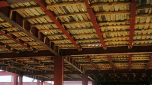 سقف کامپوزیت فلزی