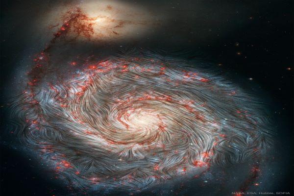 میدان مغناطیسی کهکشان گرداب