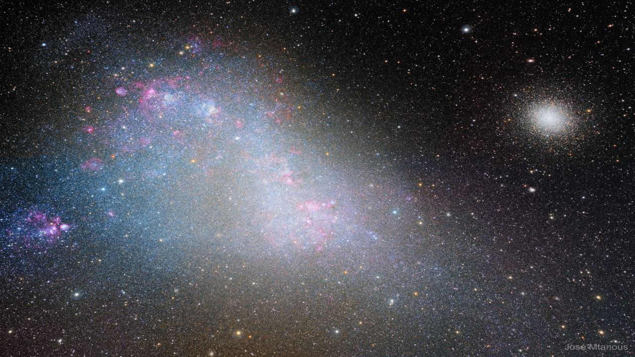 ابر ماژلانی کوچک — تصویر نجومی