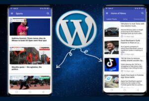 ساخت اپلیکیشن اندروید برای سایت وردپرس | به زبان ساده و کاربردی