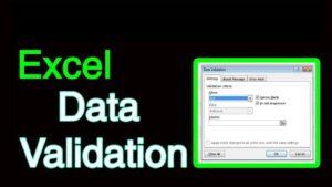 Data Validation در اکسل — کاربرد و آموزش استفاده | به زبان ساده