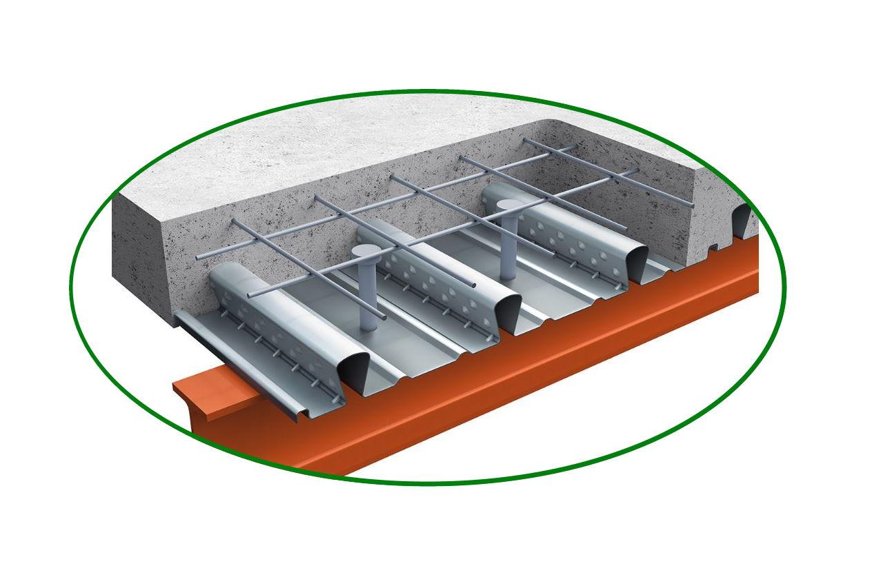 سقف عرشه فولادی چیست ؟ — اجزا، انواع و دتایل اجرایی | به زبان ساده