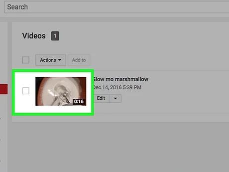 حذف ویدئو از یوتیوب