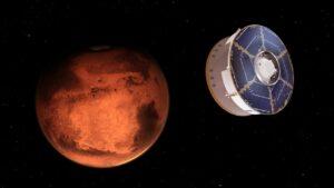 هفت دقیقه تا مریخ — تصویر نجومی