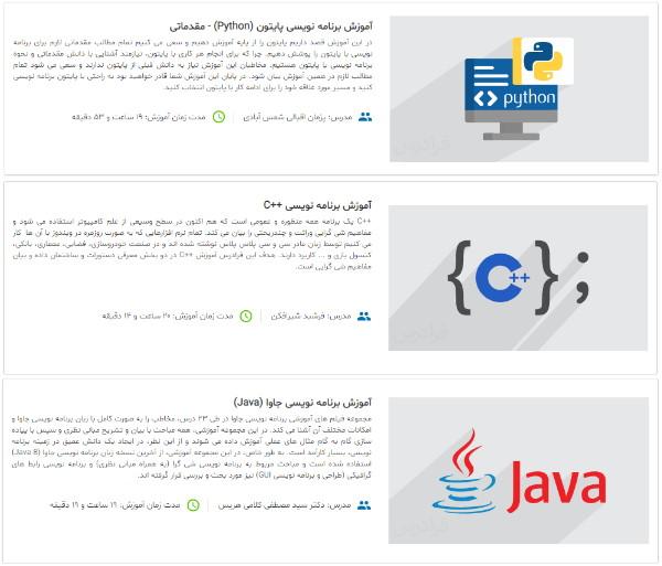 معرفی مجموعه فیلم های آموزش برنامه نویسی در مطلب آموزش Visual Studio Code