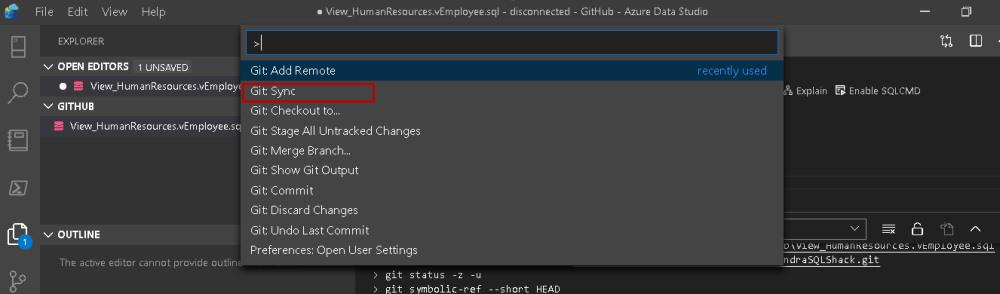 Command Pallete در VS Code برای آموزش Visual Studio Code