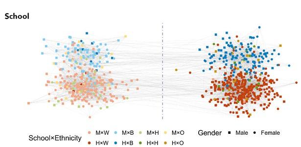 school communities network analysis