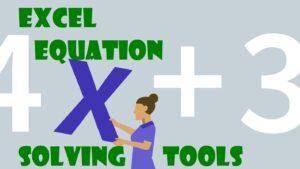 حل معادله در اکسل — آموزش گام به گام