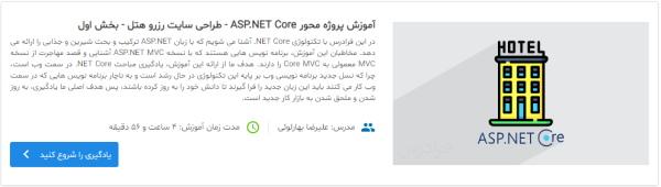 معرفی دوره آموزش ASP.NET Core در مطلب برنامه نویسی وب چیست ؟