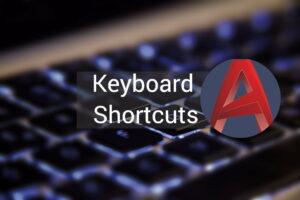 کلیدهای میانبر اتوکد | معرفی میانبرهای یک کلمه ای و ترکیبی — به زبان ساده