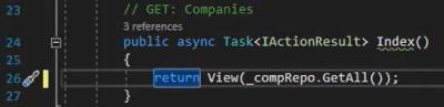 تغییر کدهای async Task برای استفاده از Repository به جای Db Context | آموزش Dapper