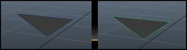 در تصویر نرمال در OpenGL و گرافیک کامپیوتری به رنگ سبز نشان داده شده است