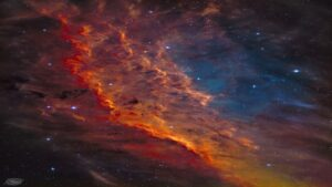 سحابی کالیفرنیا — تصویر نجومی