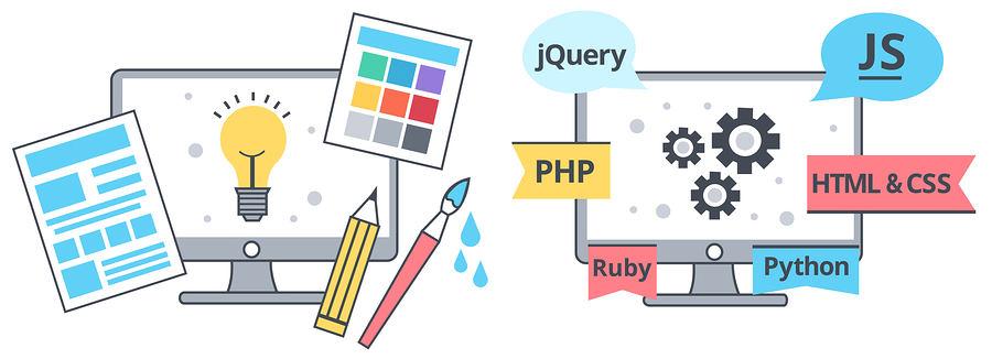 تفاوت توسعه وب و طراحی وب چیست ؟   درس مهندسی اینترنت